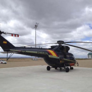 Helicoptero forestal